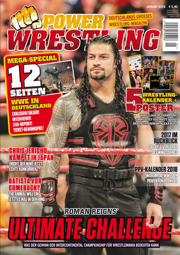 Power-Wrestling Januar 2018