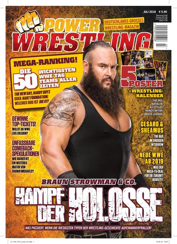 Power-Wrestling Juli 2018